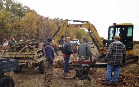 20131026 Woodcutting- 5equipment rodeo