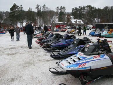 Some beautiful sleds.