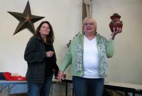 Door prize Coordinaters Julie and Sue.